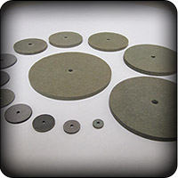 Die Cutting of Fiber Discs