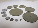 Die Cutting of Fiber Discs for Toys